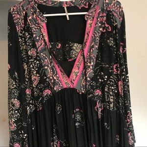 Free people long maxi dress